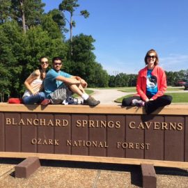 Lodging near Blanchard Springs Caverns