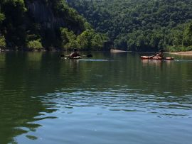 Canoeing & Fishing on Buffalo National River