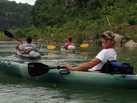 Canoeing & Kayaking on White River Arkansas