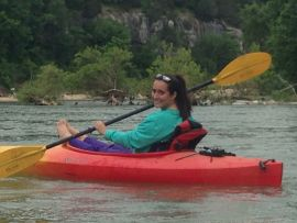 Kayaking on Buffalo River