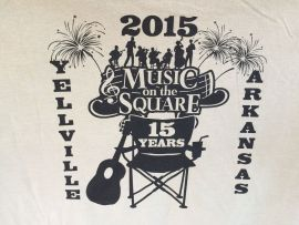 Music on the Square Yellville Arkansas