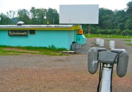 Old Fashioned Drive-In Movie Theatre