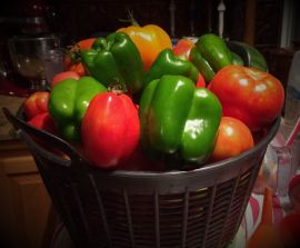 Ozark homegrown vegetables