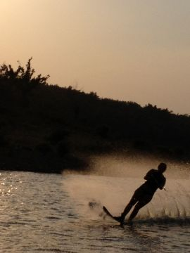 Ozark waterskiing