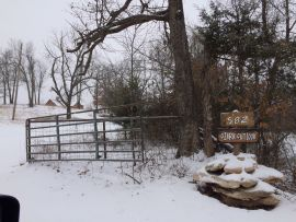 Snow Day at Ozark bed and breakfast