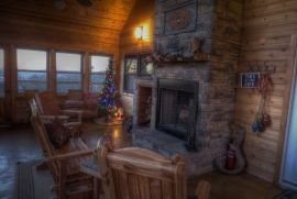The perfect Ozark Mountain Lodge