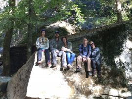 White River lodging and hiking